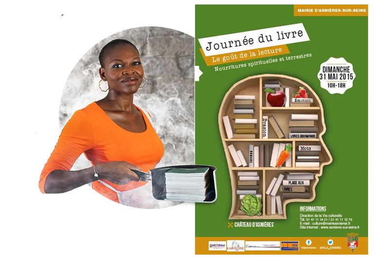 Journée du livre   Asnières 2015