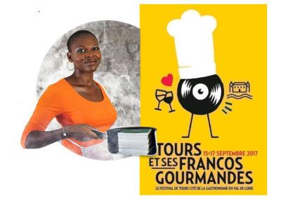 Iehca   TOURS et ses FRANCOS GOURMANDES, Villa Rabelais, Tours 2017