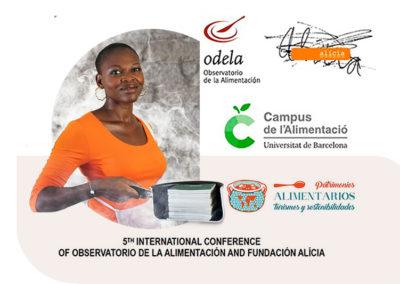 Colloque international de la Fundacion Alicia  Barcelone 2019