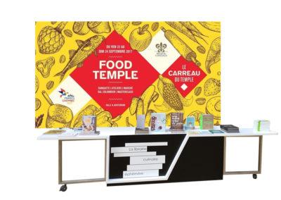 Le Carreau du Temple, Food Temple 2017   Paris