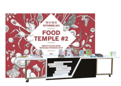 Carreau du Temple, Food Temple 2018   Paris