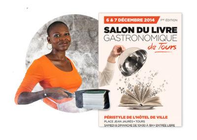 Salon du livre gastronomique  Tours 2014