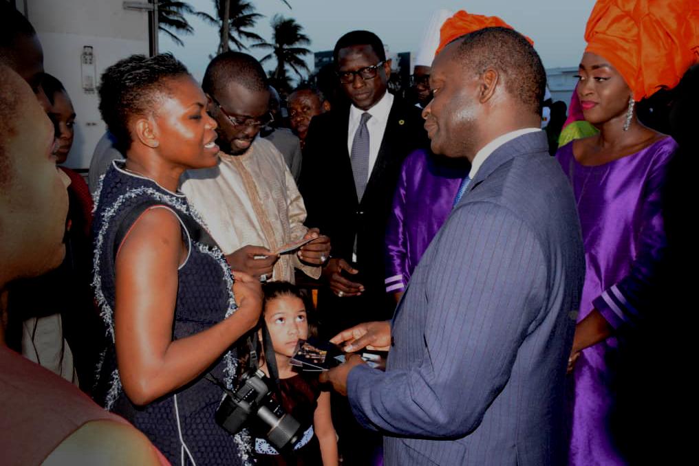 Bocuse d'or Dakar, bain de foule avec les autorités