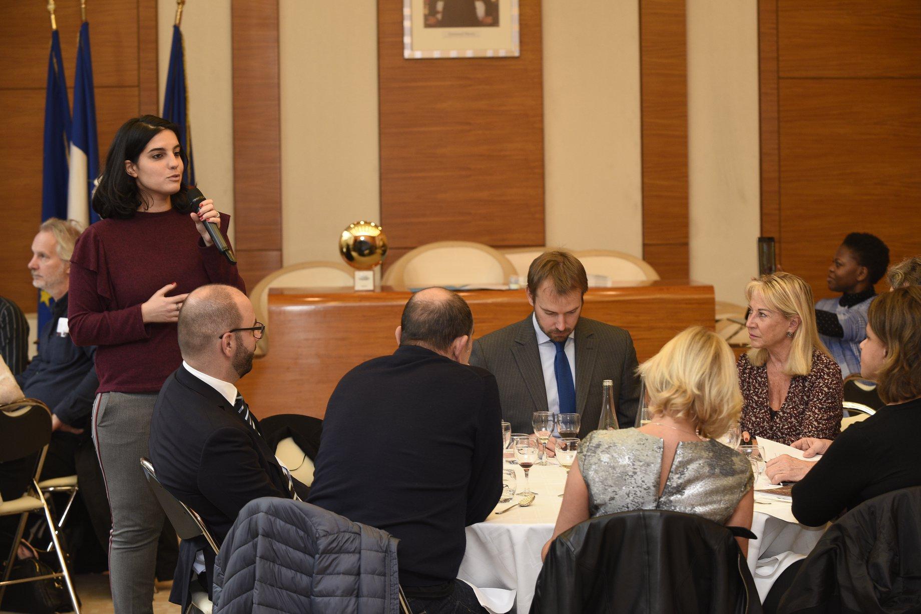 Fipc, déjeuner débat Mairie Paris 17