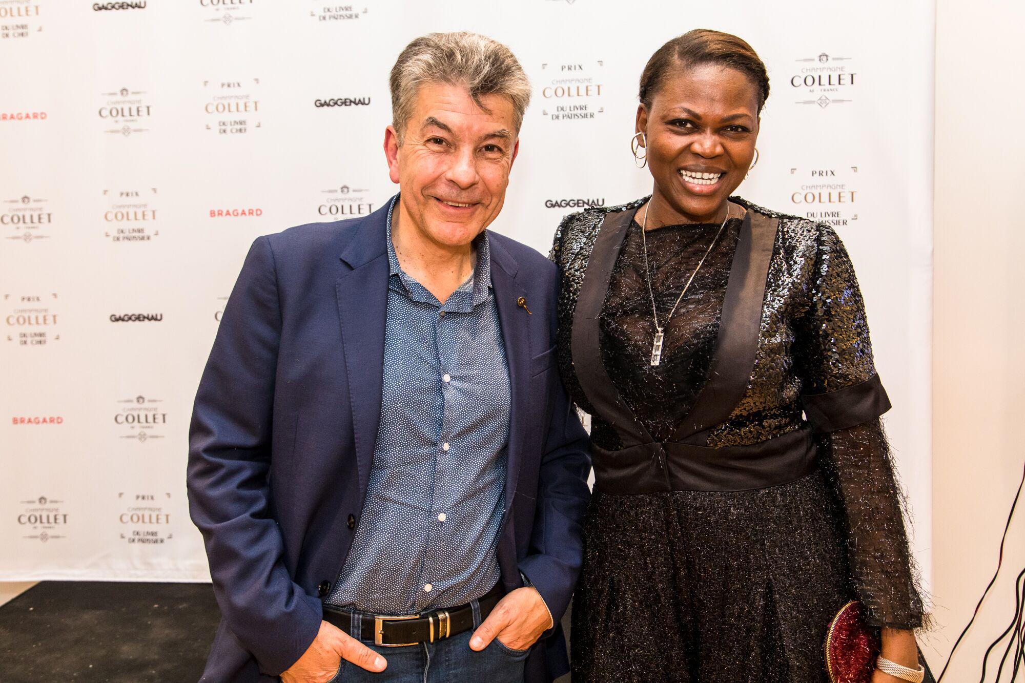 Prix Champagne Collet du Livre de Chefs, avec Régis Marcon, au 5 Cirque, Paris