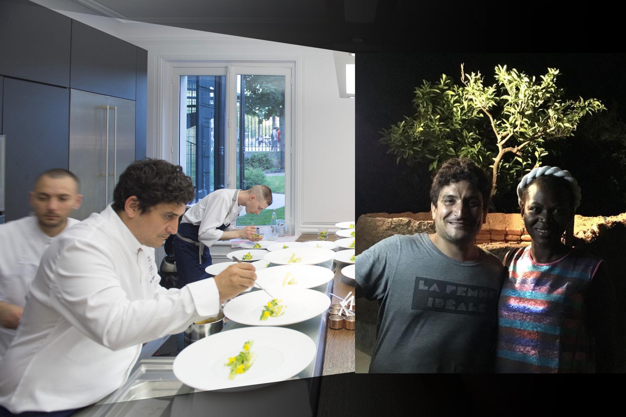 """Mauro est """" la femme idéale """" : il me montre son nouveau four en bas de son restaurant"""