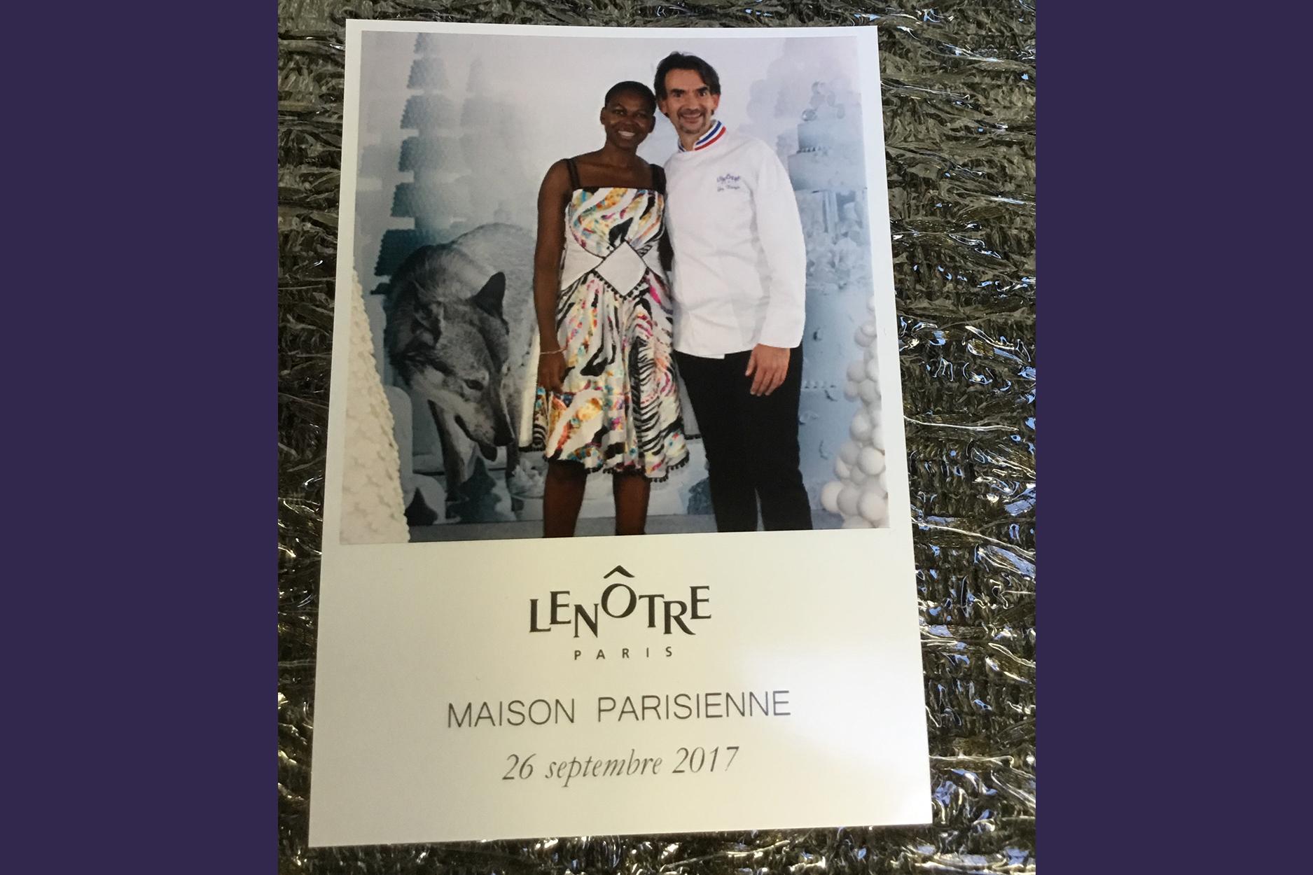 Avec Chef Guy Krenzer, La Maison Lenôtre fête ses 60 ans, Cercle Lebrun Paris