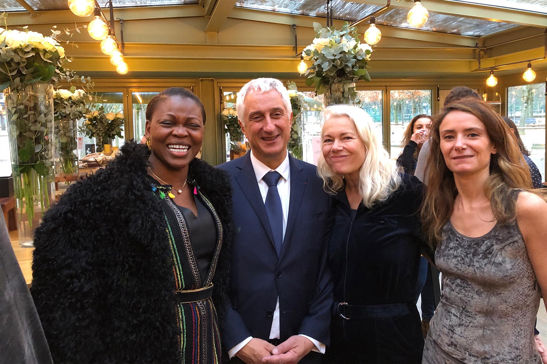 Prix Antonin Carême du Livre de Chefs, Table du Luxembourg, Paris en bonne compagnie